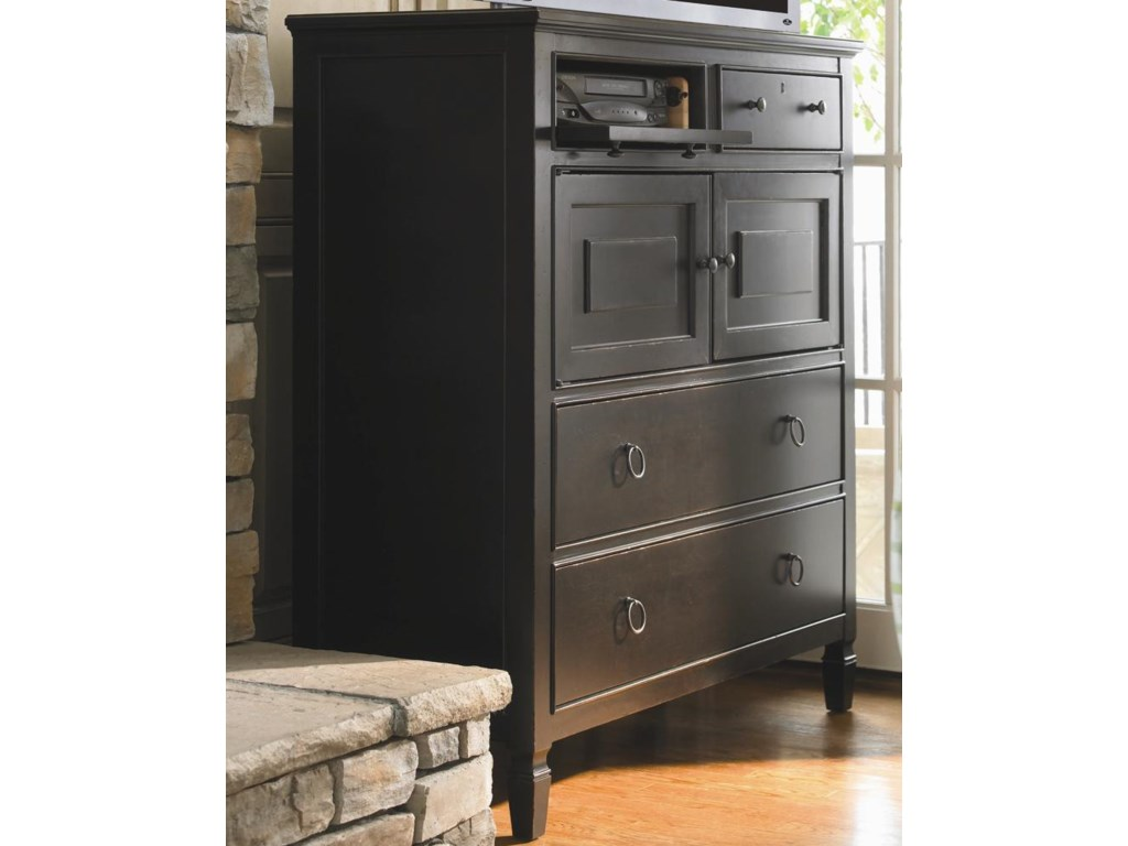 Drop Down Drawer Front for DVD Player