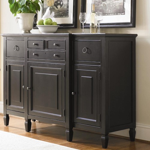 Morris Home Furnishings Summer Hill Serving Buffet with Storage