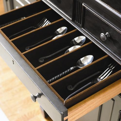 Divided Silver Drawer