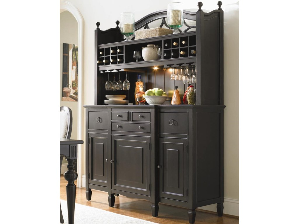 Shown with Bar Hutch