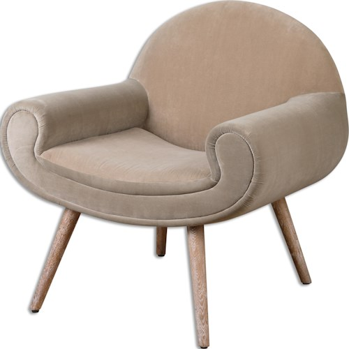Uttermost Accent Furniture Kavita Accent Chair