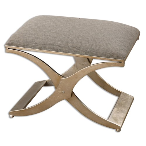 Uttermost Accent Furniture Kiah Modern Small Bench