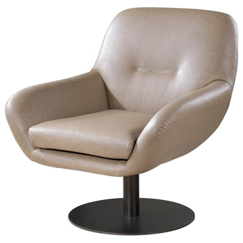 Uttermost Accent Furniture Scotlyn Swivel Chair
