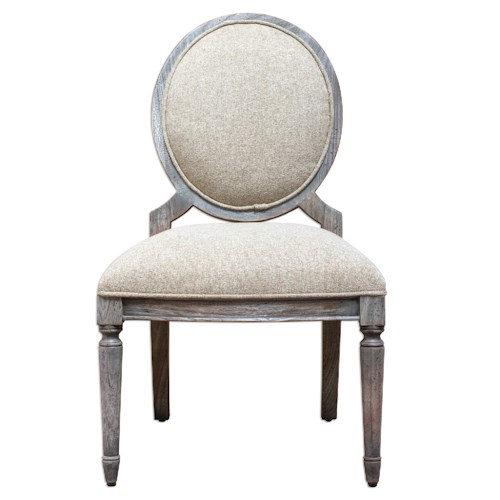 Uttermost Accent Furniture Kamila Driftwood Armless Chair