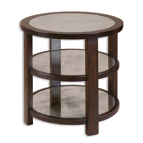 Uttermost Accent Furniture Monteith Lamp Table