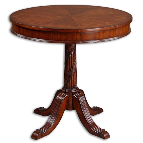 Uttermost Accent Furniture Brakefield Round Table