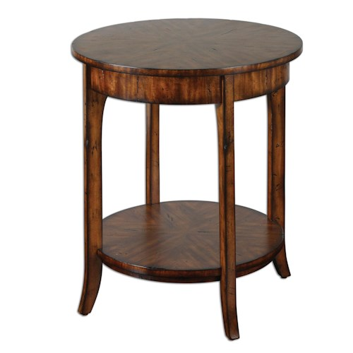 Uttermost Accent Furniture Carmel Lamp Table