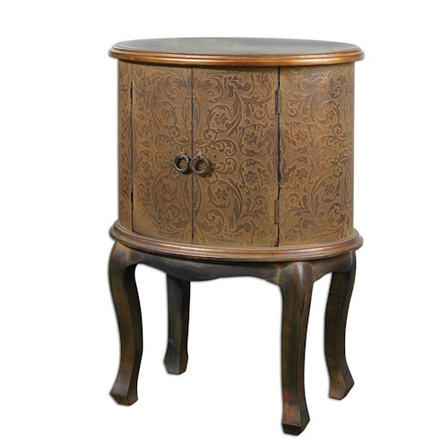 Uttermost Accent Furniture Ascencion Accent Table