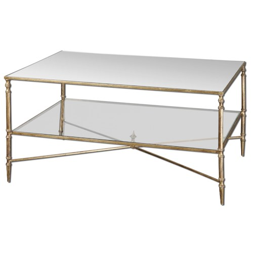 Uttermost Accent Furniture Henzler Coffee Table