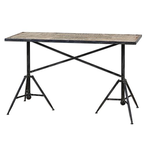 Uttermost Accent Furniture Plaisance Console Table