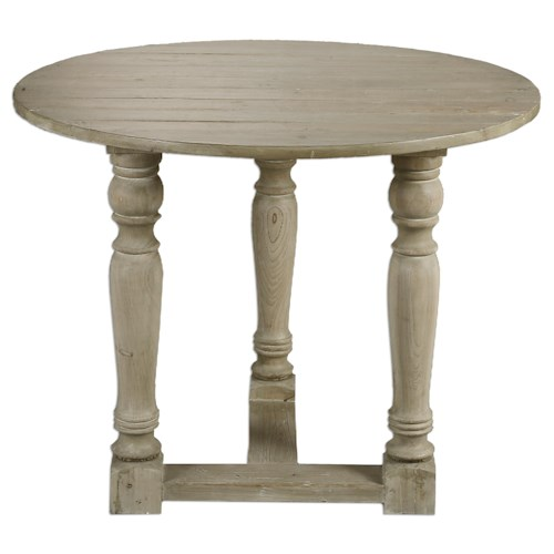 Uttermost Accent Furniture Hadwin Drop Leaf Table