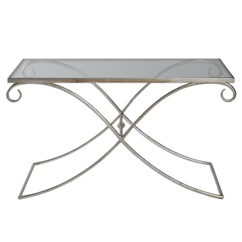 Uttermost Accent Furniture Lamani Glass Coffee Table