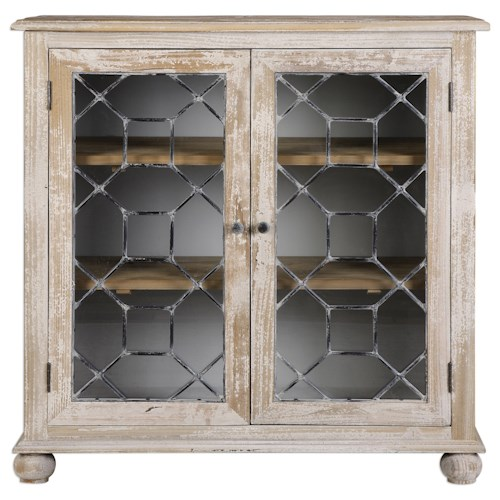 Uttermost Accent Furniture Earline Accent Cabinet