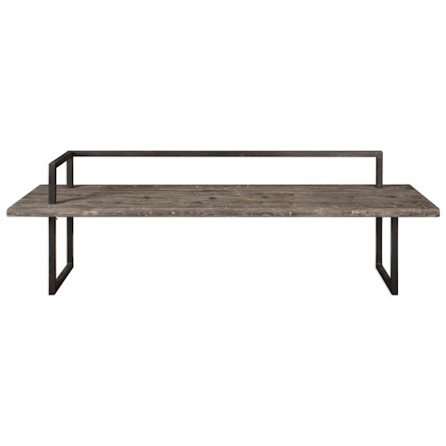 Uttermost Accent Furniture  Herbert Reclaimed Wood Bench