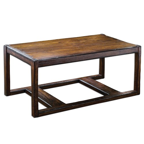 Uttermost Accent Furniture Deni Wooden Coffee Table