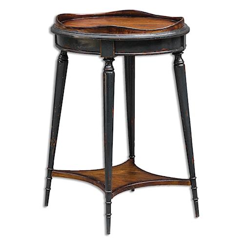 Uttermost Accent Furniture Agacio Round Accent Table