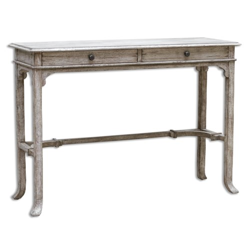 Uttermost Accent Furniture Bridgely Wooden Console Table