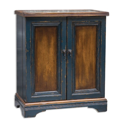 Uttermost Accent Furniture Agacio Wooden Bar Cabinet
