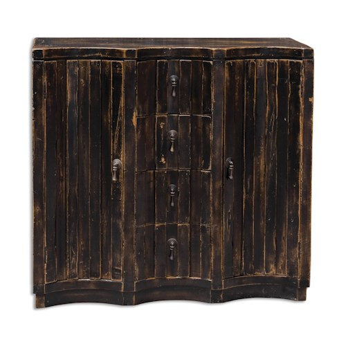 Uttermost Accent Furniture Edeline Black Buffet Chest