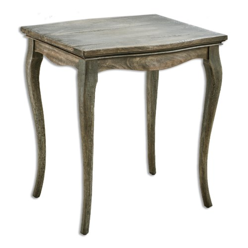 Uttermost Accent Furniture Gabri Driftwood Side Table