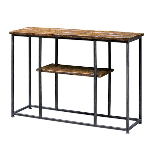 Uttermost Accent Furniture Ania Aged Console Table