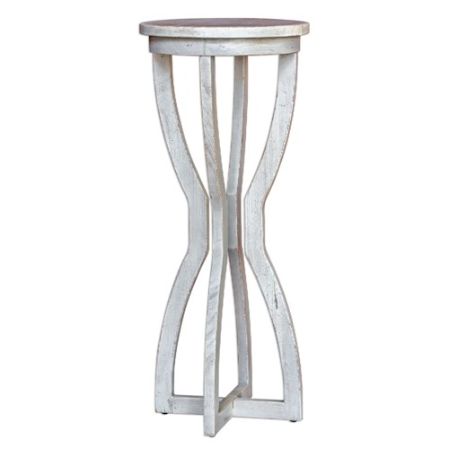 Uttermost Accent Furniture Noreena Wood Plant Stand