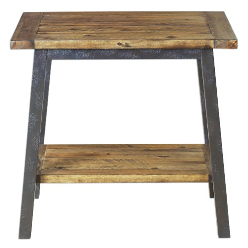 Uttermost Accent Furniture Ruslan Square Side Table