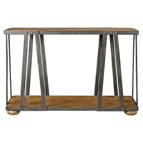 Uttermost Accent Furniture Vladimir Console Table