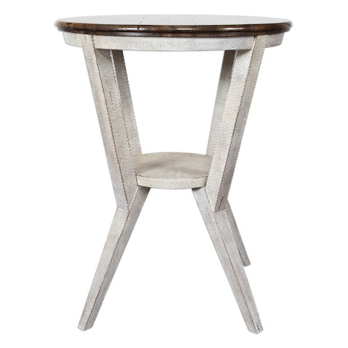 Uttermost Accent Furniture Delino Round Side Table