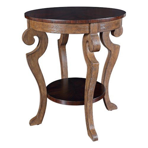 Uttermost Accent Furniture Reka Lamp Table