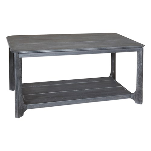 Uttermost Accent Furniture Garroway Wood Coffee Table