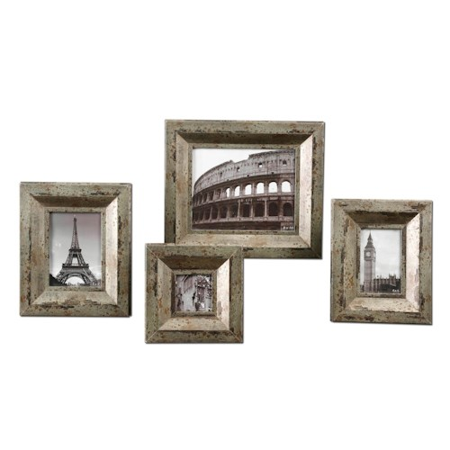 Uttermost Accessories Camber Photo Frames Set of 4