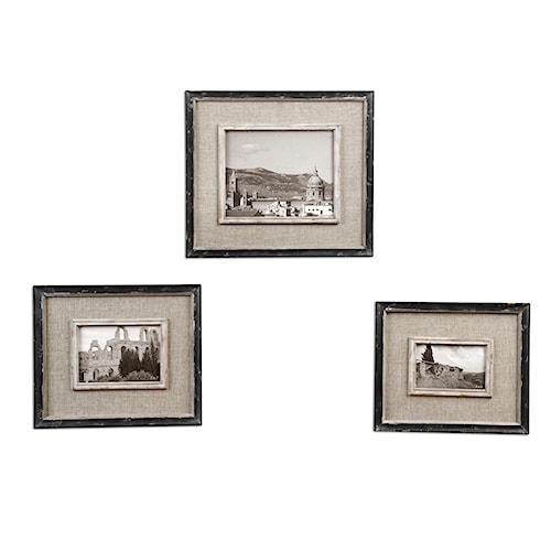 Uttermost Accessories Kalidas Photo Frames Set of 3