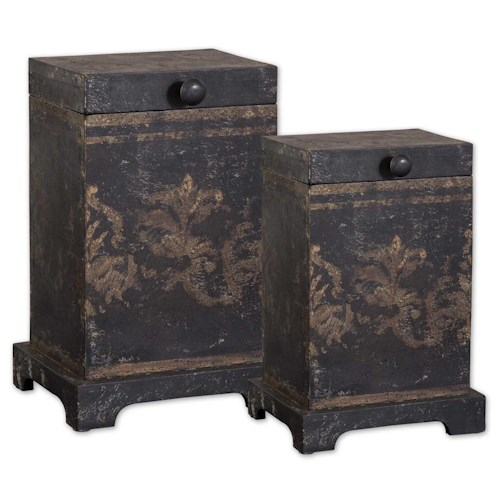 Uttermost Accessories Melani Boxes Set of 2