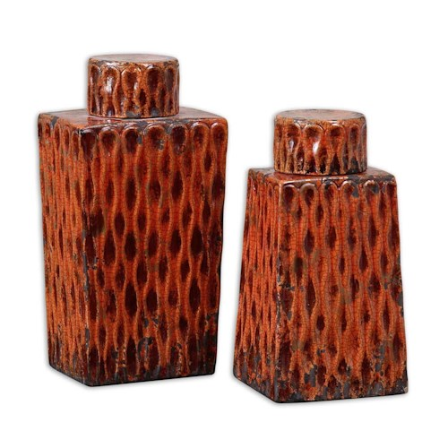 Uttermost Accessories Raisa Containers Set of 2
