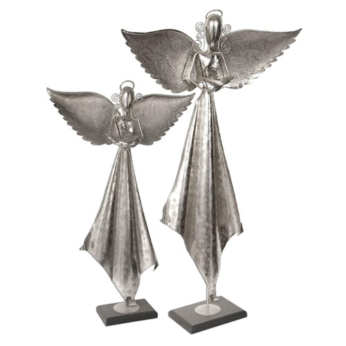 Uttermost Accessories Angels Sculpture Set of 2