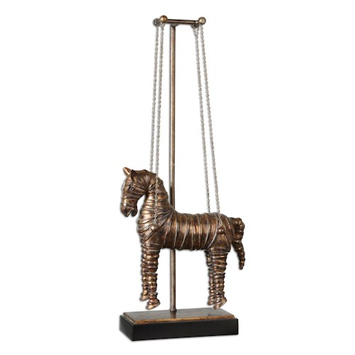 Uttermost Accessories Stedman Horse Sculpture