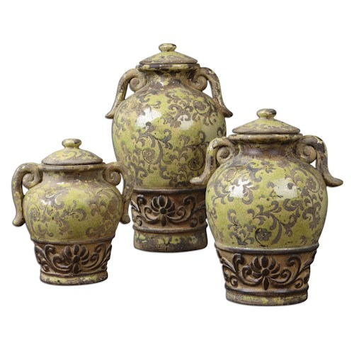 Uttermost Accessories Gian Containers Set of 3