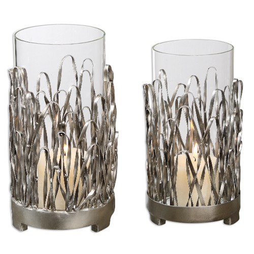 Uttermost Accessories Corbis Candleholders Set of 2