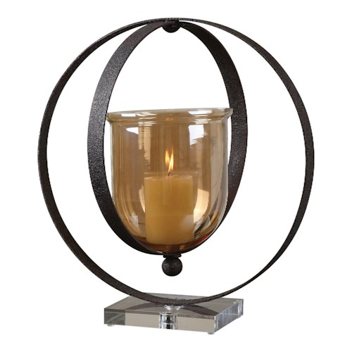 Uttermost Accessories Charon Metal Candleholder