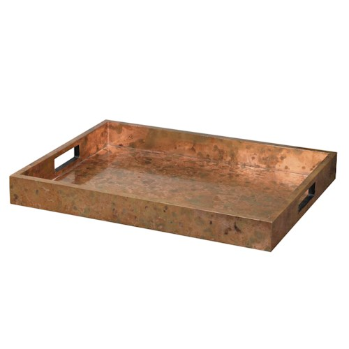 Uttermost Accessories Ambrosia Copper Tray