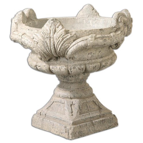 Uttermost Accessories Elske Stone Planter