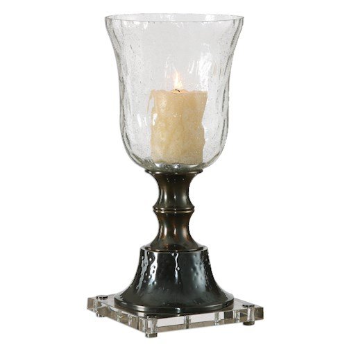 Uttermost Accessories Bayard Bronze Candleholder