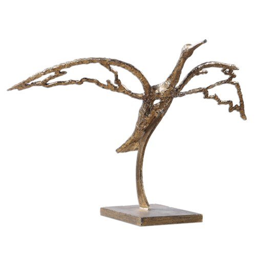 Uttermost Accessories Taking Flight Sculpture