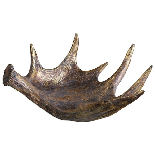 Uttermost Accessories Moose Antler Bowl