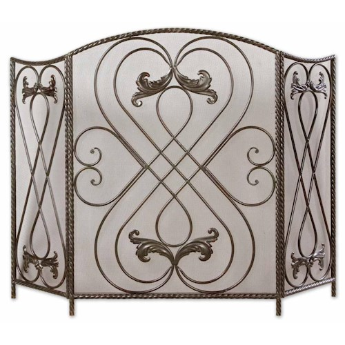 Uttermost Accessories Effie Fireplace Screen