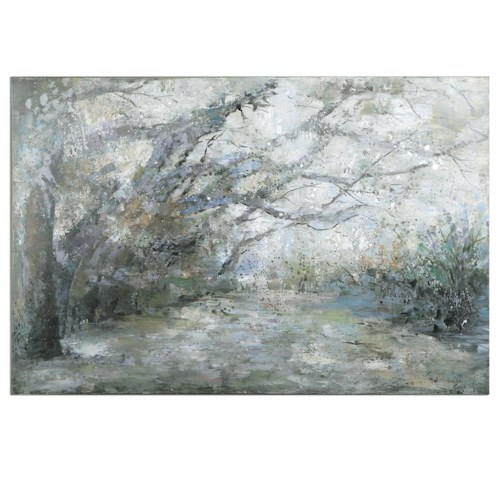 Uttermost Art Forest Lane Canvas Art
