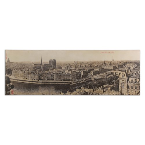 Uttermost Art Panorama De Paris Vintage Art