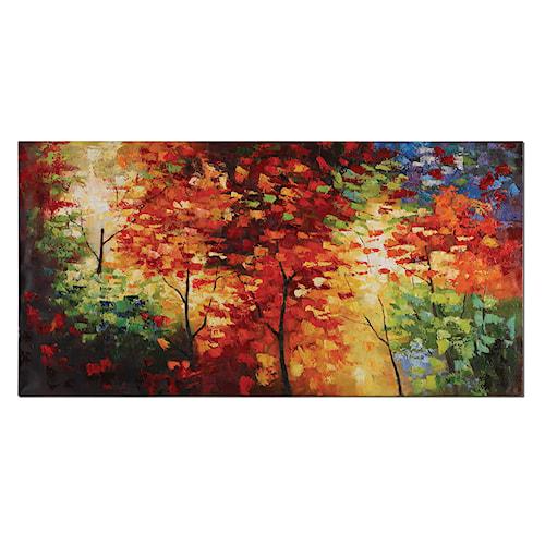 Uttermost Art Bright Foliage