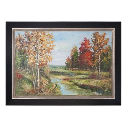 Uttermost Art Country Creek Landscape Art